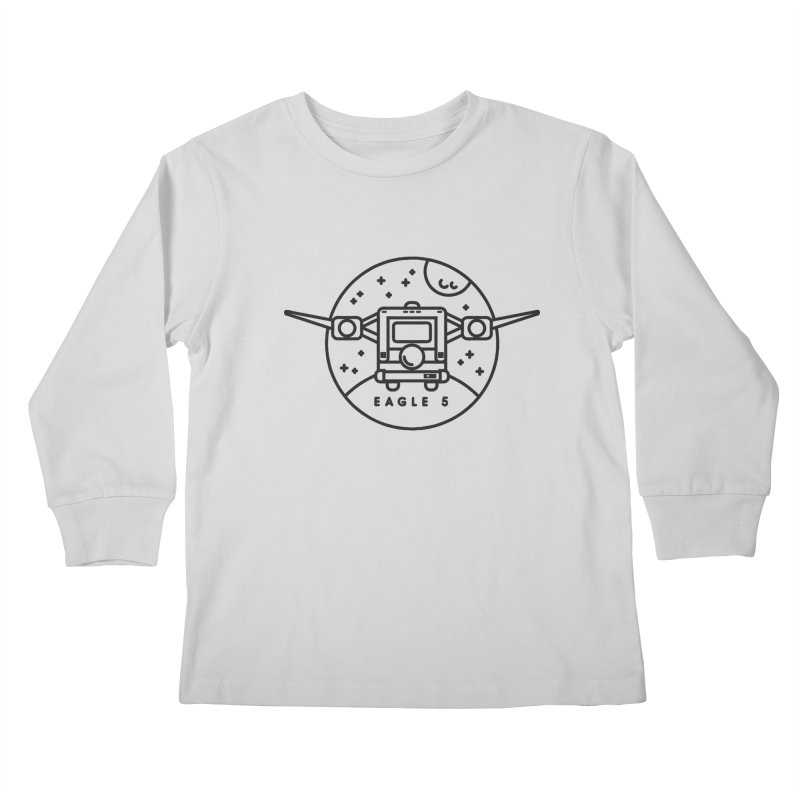 Eagle 5 Kids Longsleeve T-Shirt by gintron's Artist Shop