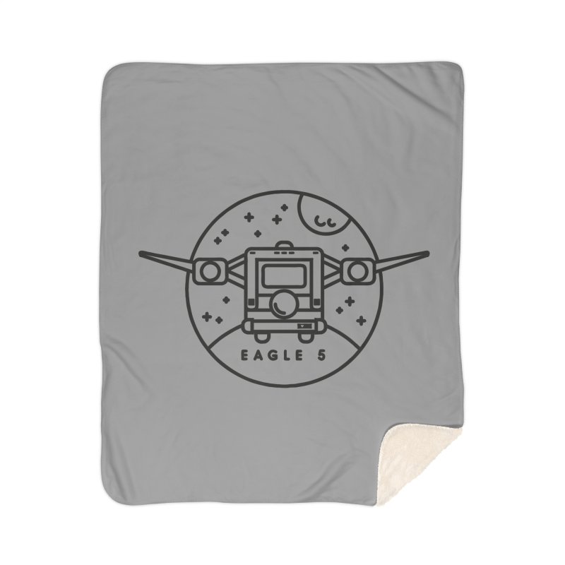 Eagle 5 Home Sherpa Blanket Blanket by Gintron