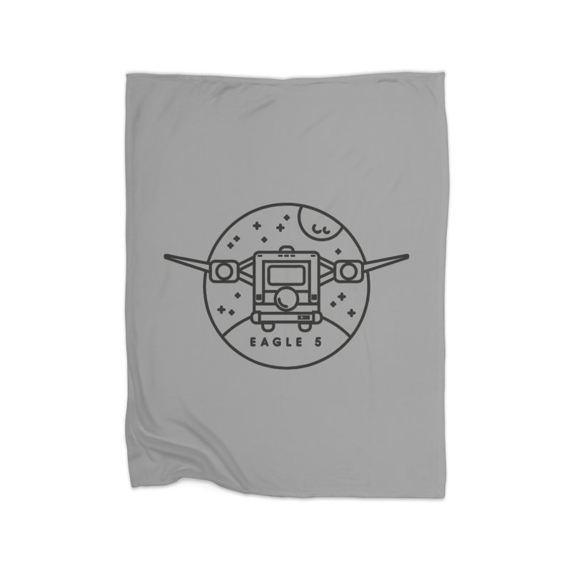 Eagle 5 Home Blanket by gintron's Artist Shop