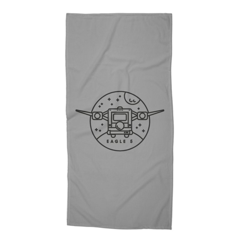 Eagle 5 Accessories Beach Towel by gintron's Artist Shop
