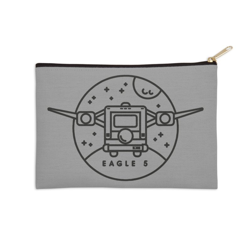 Eagle 5 Accessories Zip Pouch by gintron's Artist Shop