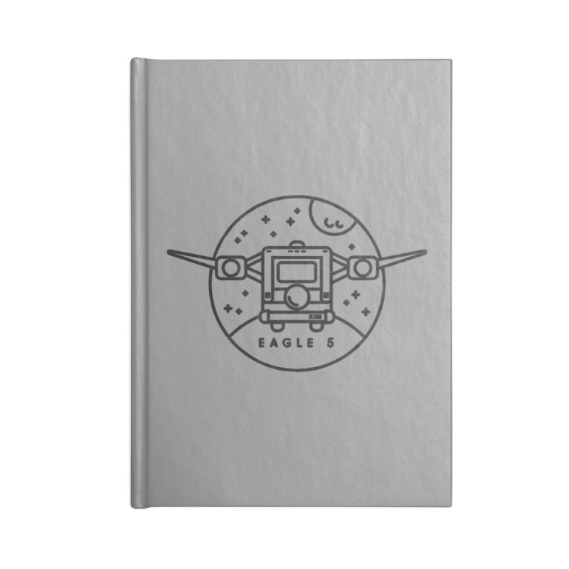 Eagle 5 Accessories Lined Journal Notebook by Gintron