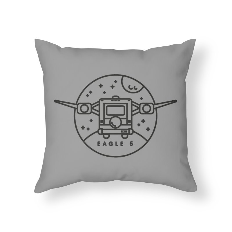 Eagle 5 Home Throw Pillow by gintron's Artist Shop