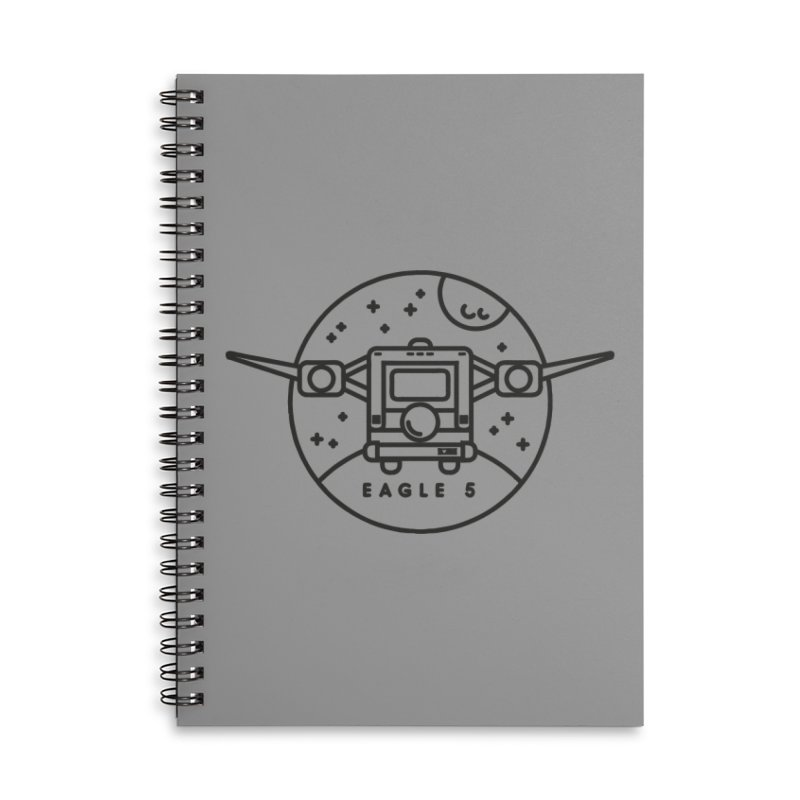 Eagle 5 Accessories Lined Spiral Notebook by Gintron