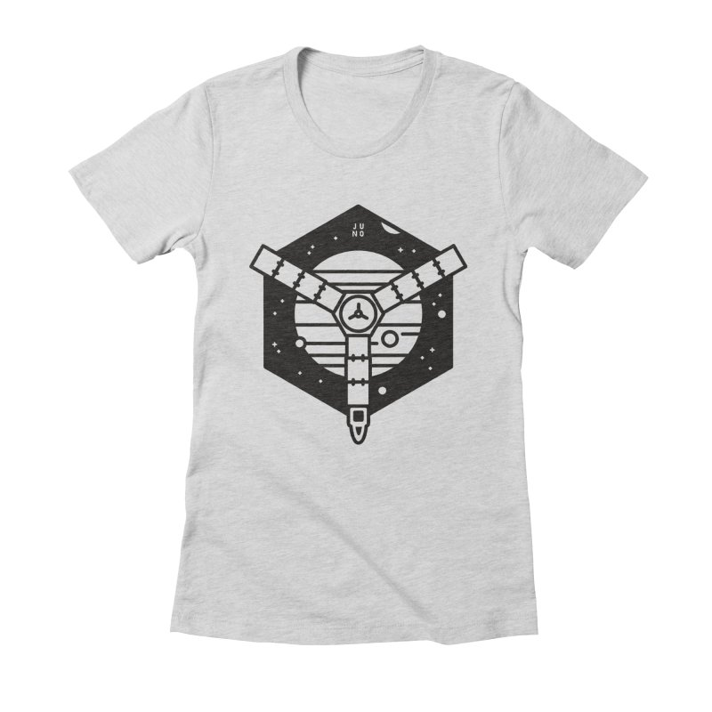 Juno Women's Fitted T-Shirt by Gintron