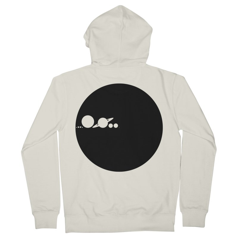Solar Scale Women's French Terry Zip-Up Hoody by gintron's Artist Shop