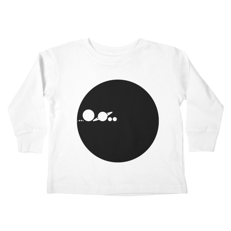 Solar Scale Kids Toddler Longsleeve T-Shirt by gintron's Artist Shop
