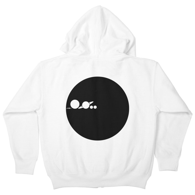 Solar Scale Kids Zip-Up Hoody by gintron's Artist Shop
