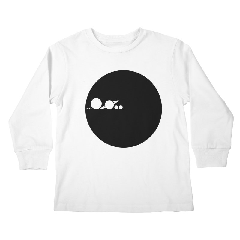 Solar Scale Kids Longsleeve T-Shirt by gintron's Artist Shop