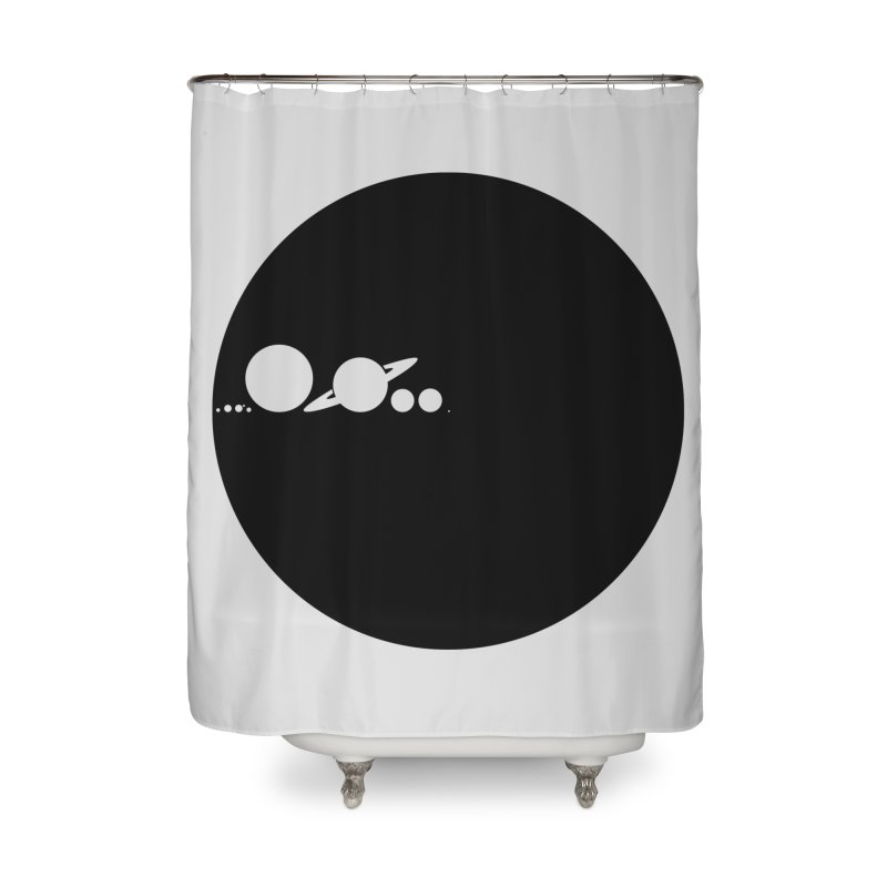 Solar Scale Home Shower Curtain by gintron's Artist Shop