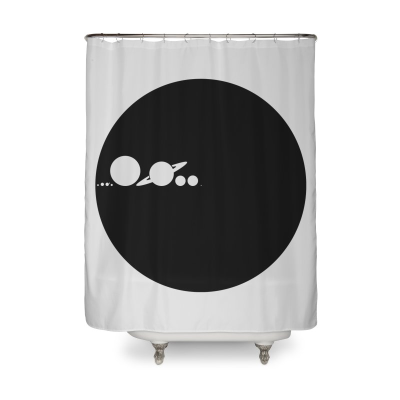 Solar Scale Home Shower Curtain by Gintron