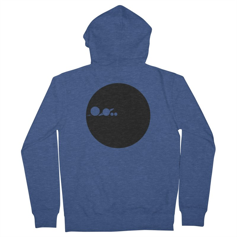 Solar Scale Men's French Terry Zip-Up Hoody by gintron's Artist Shop