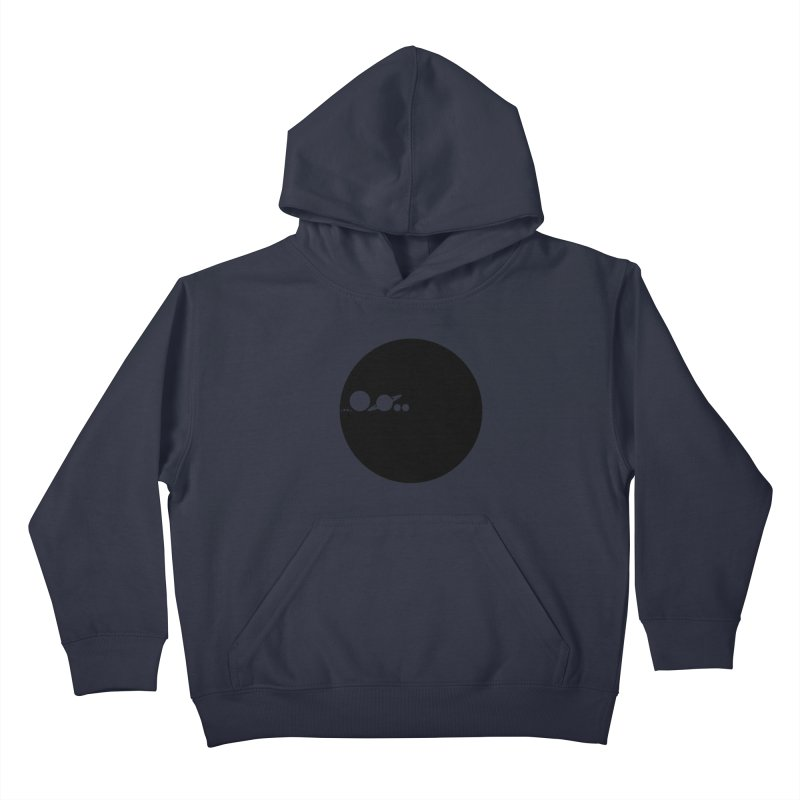 Solar Scale Kids Pullover Hoody by Gintron
