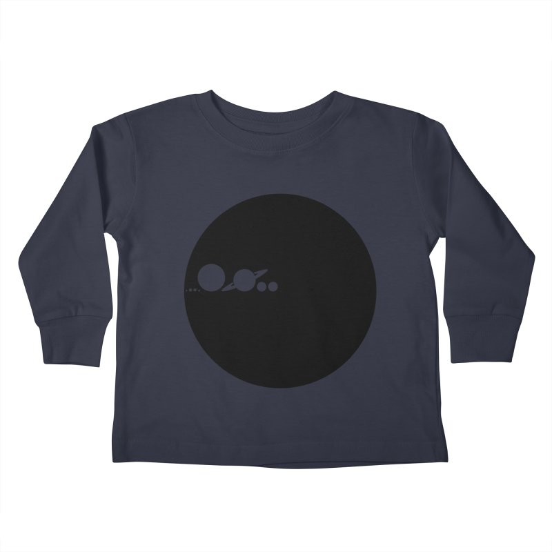 Solar Scale Kids Toddler Longsleeve T-Shirt by Gintron