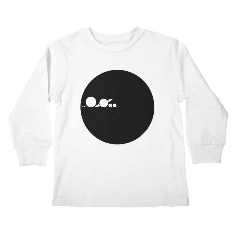 Solar Scale Kids Longsleeve T-Shirt by Gintron