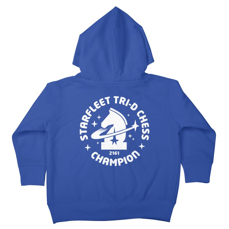 Tri-D Chess Champion Kids Toddler Zip-Up Hoody by gintron's Artist Shop