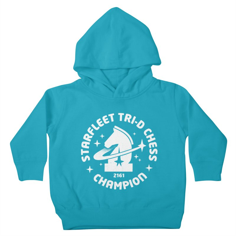 Tri-D Chess Champion Kids Toddler Pullover Hoody by gintron's Artist Shop