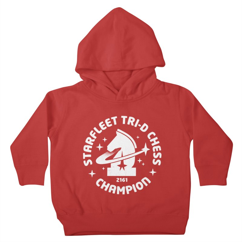 Tri-D Chess Champion Kids Toddler Pullover Hoody by Gintron
