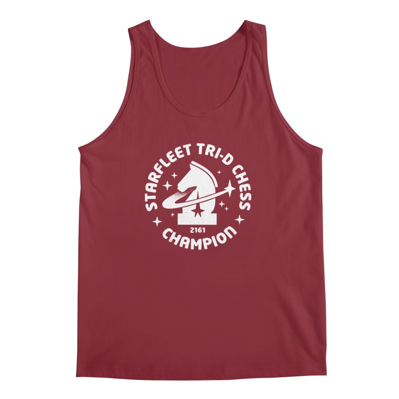 Tri-D Chess Champion Men's Regular Tank by Gintron