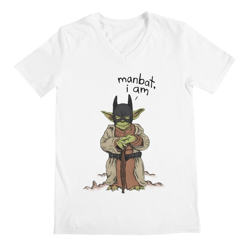 Manbat, I am. Men's V-Neck by gintron's Artist Shop