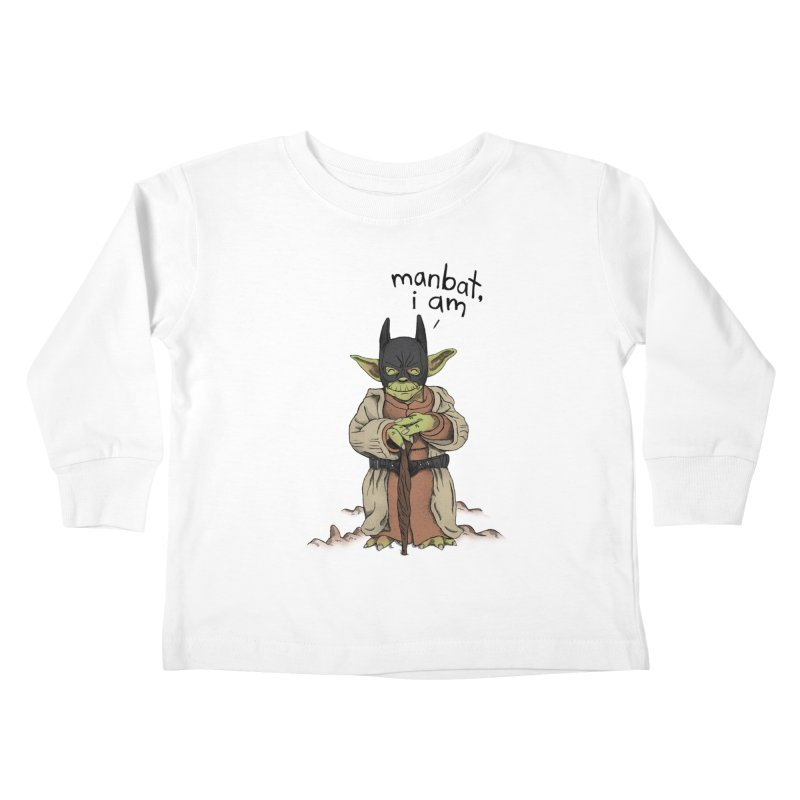 Manbat, I am. Kids Toddler Longsleeve T-Shirt by gintron's Artist Shop