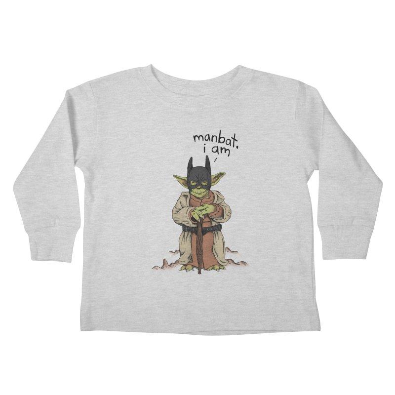 Manbat, I am. Kids Toddler Longsleeve T-Shirt by gintron's Artist Shop