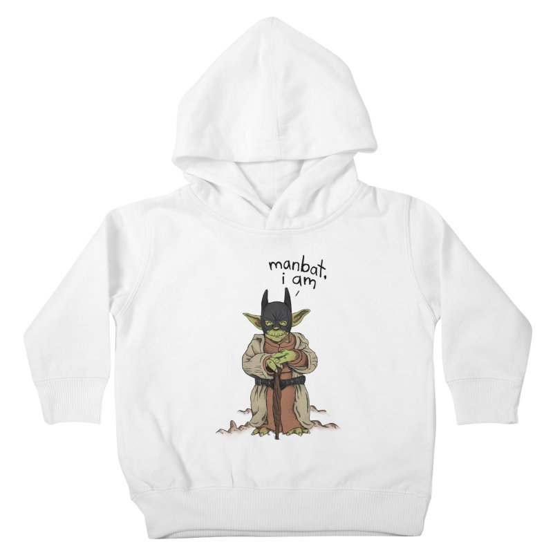 Manbat, I am. Kids Toddler Pullover Hoody by Gintron
