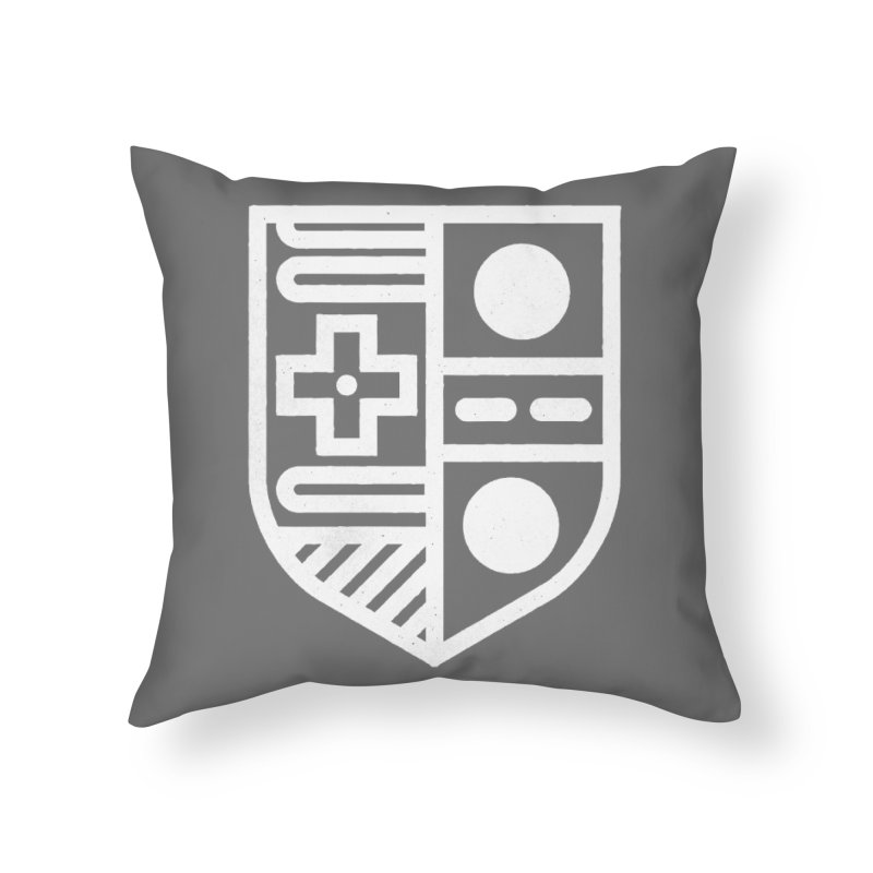 Retro Royalty Home Throw Pillow by gintron's Artist Shop