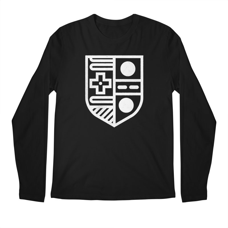 Retro Royalty Men's Regular Longsleeve T-Shirt by gintron's Artist Shop