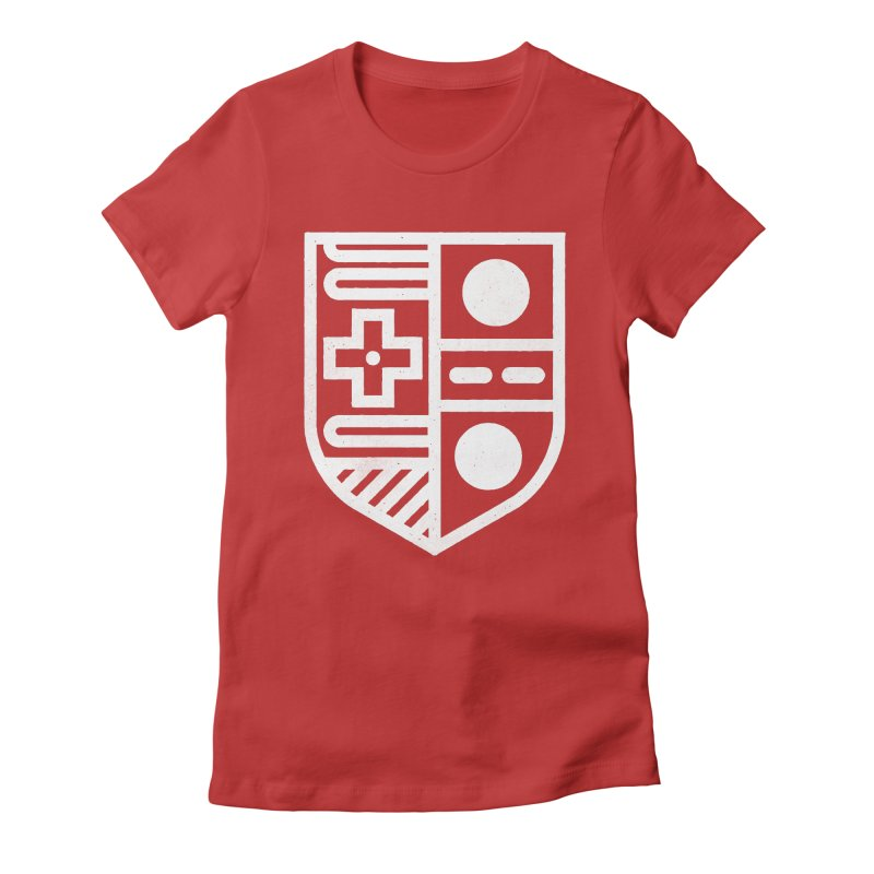 Retro Royalty Women's Fitted T-Shirt by Gintron