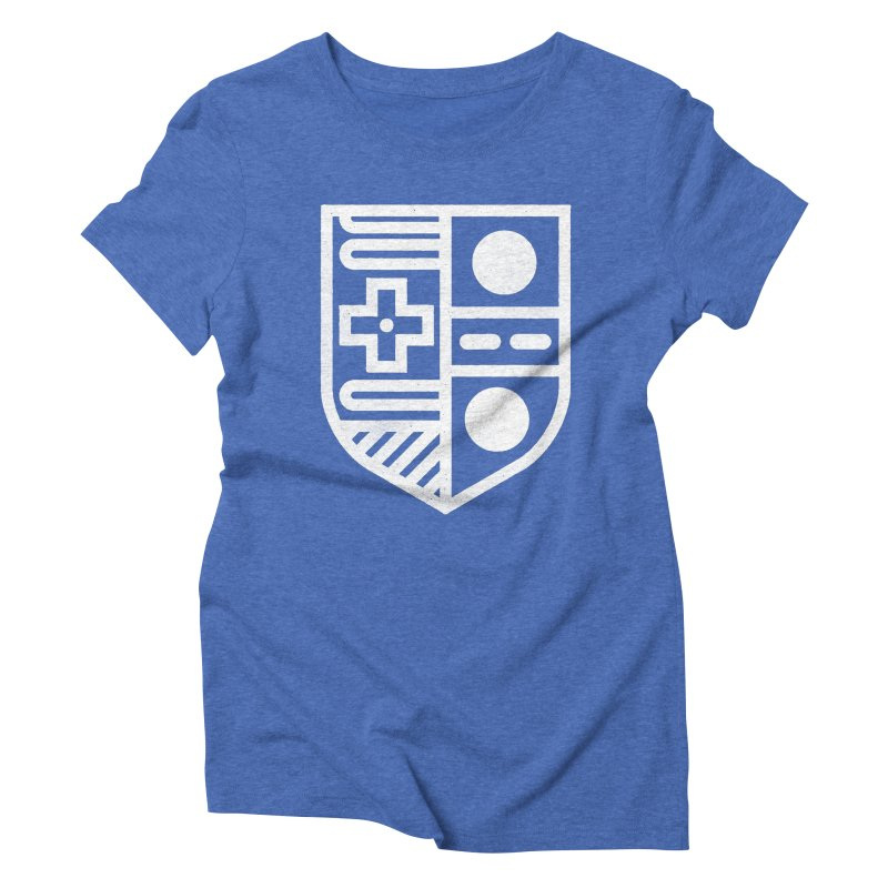 Retro Royalty Women's Triblend T-Shirt by Gintron