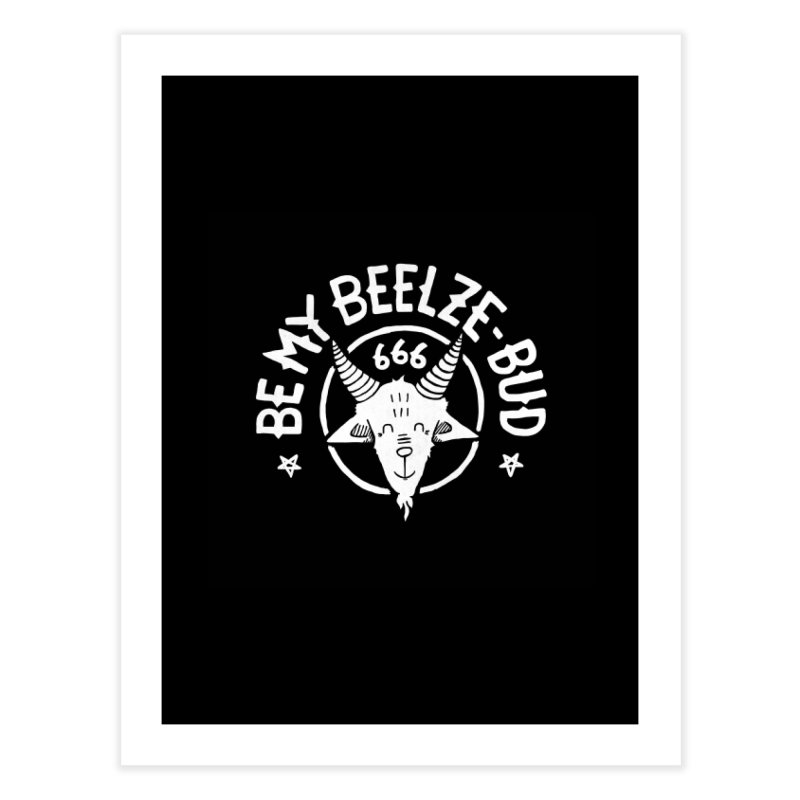 Beelze-Bud Home Fine Art Print by gintron's Artist Shop
