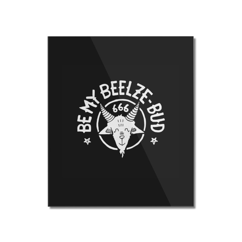 Beelze-Bud Home Mounted Acrylic Print by Gintron