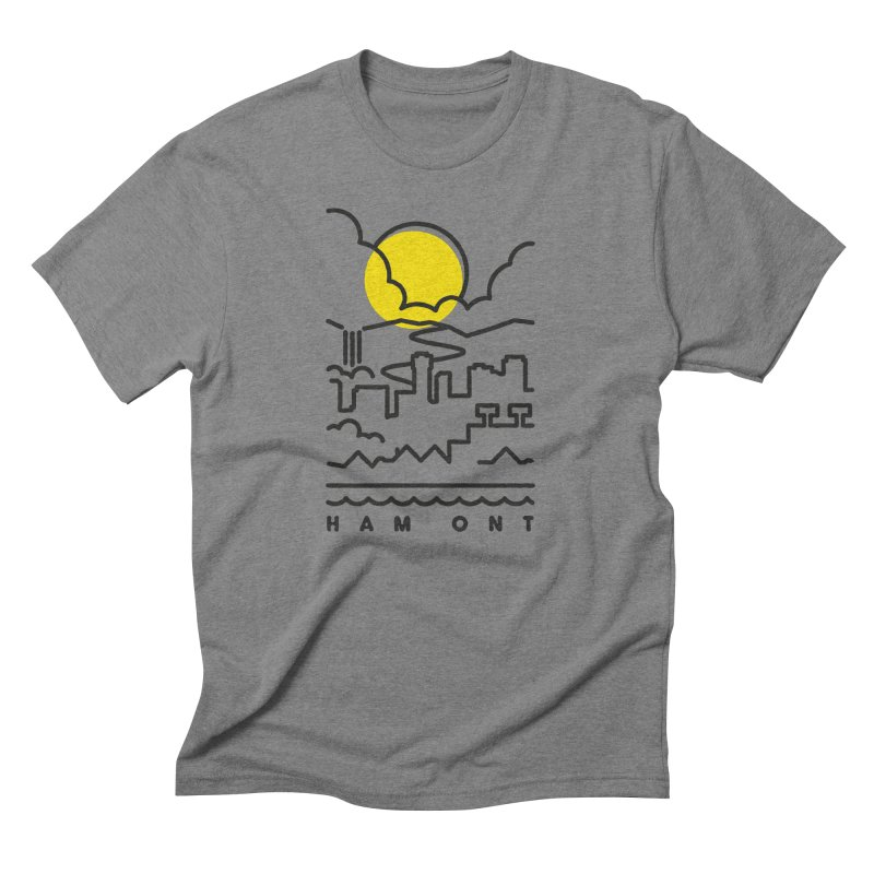 HAM ONT Men's Triblend T-Shirt by gintron's Artist Shop