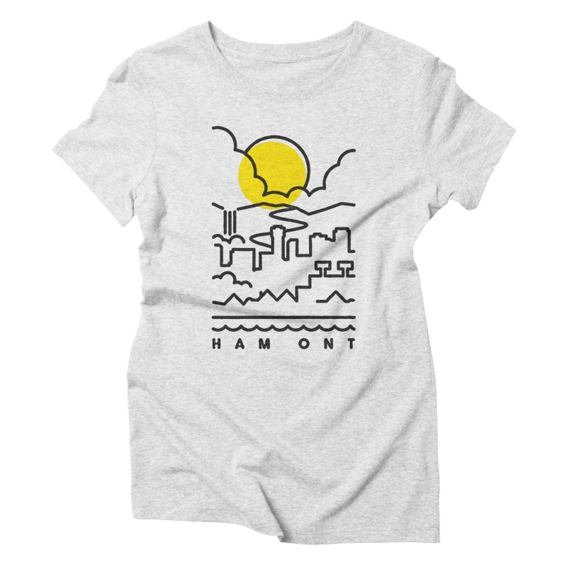HAM ONT Women's Triblend T-Shirt by Gintron