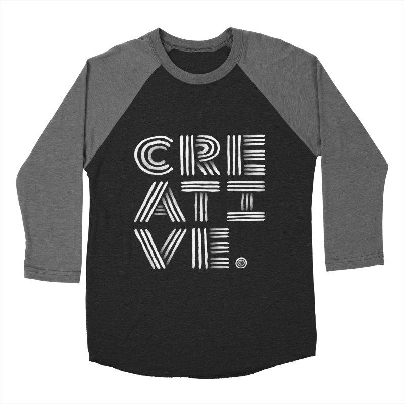 Creative. Men's Baseball Triblend T-Shirt by gintron's Artist Shop