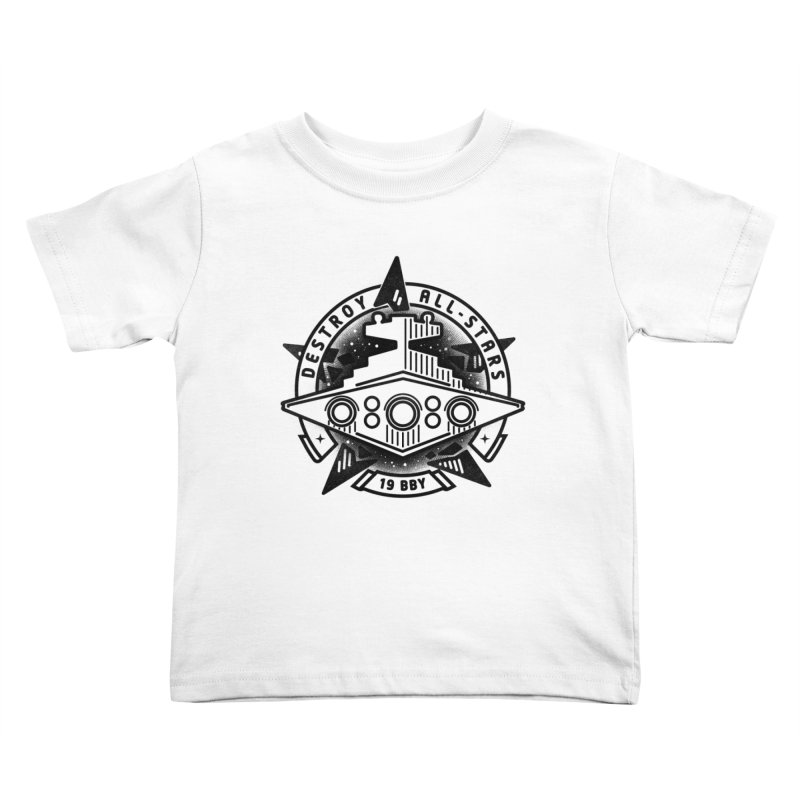 Destroy All-Stars Kids Toddler T-Shirt by gintron's Artist Shop