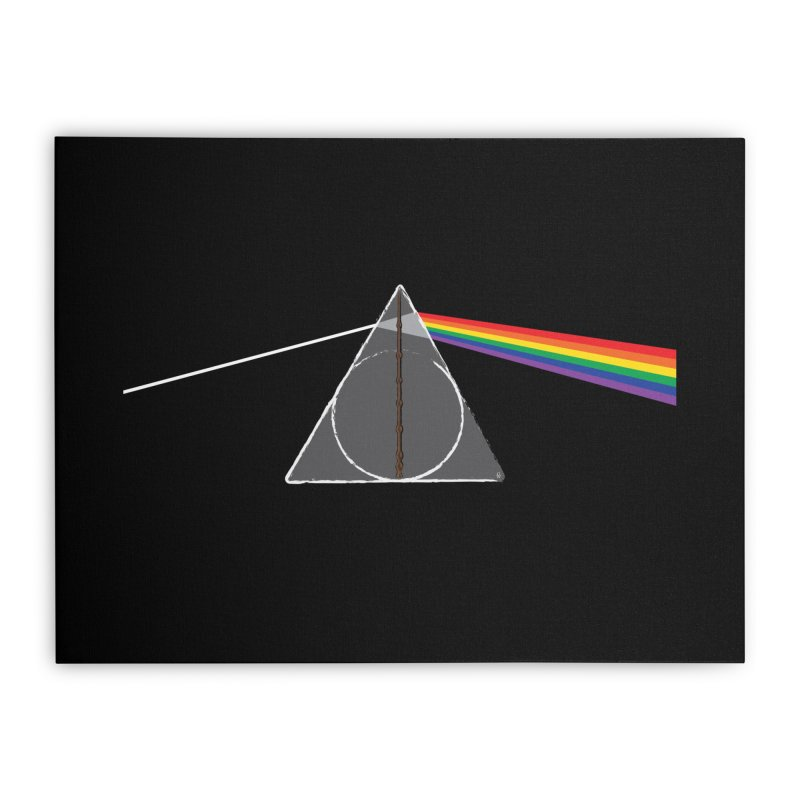 Dark Side of the Hallows Home Stretched Canvas by GipsonWands Artist Shop