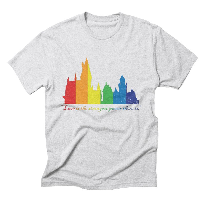 The power of love is magic Men's Triblend T-Shirt by GipsonWands Artist Shop