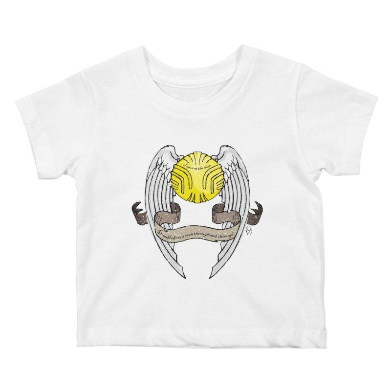 Dumbledore's man Kids Baby T-Shirt by GipsonWands Artist Shop