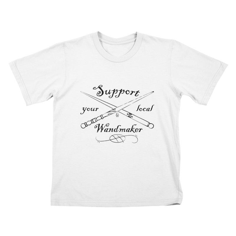 Support your local Wandmaker Kids T-shirt by GipsonWands Artist Shop