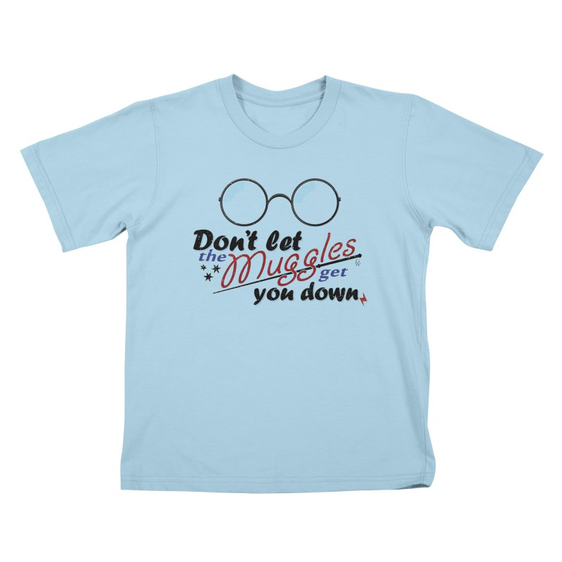 Ron's Response Kids T-Shirt by GipsonWands Artist Shop