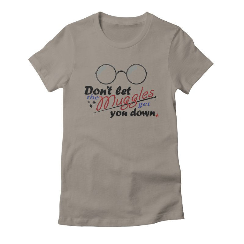 Ron's Response Women's Fitted T-Shirt by GipsonWands Artist Shop