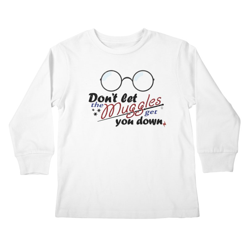 Ron's Response Kids Longsleeve T-Shirt by GipsonWands Artist Shop