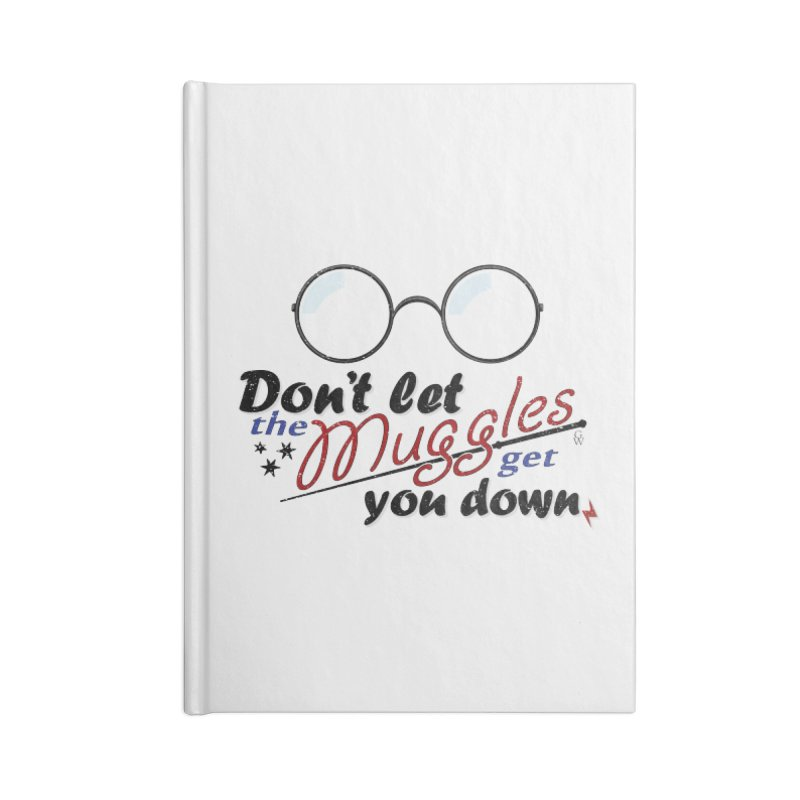 Ron's Response Accessories Notebook by GipsonWands Artist Shop