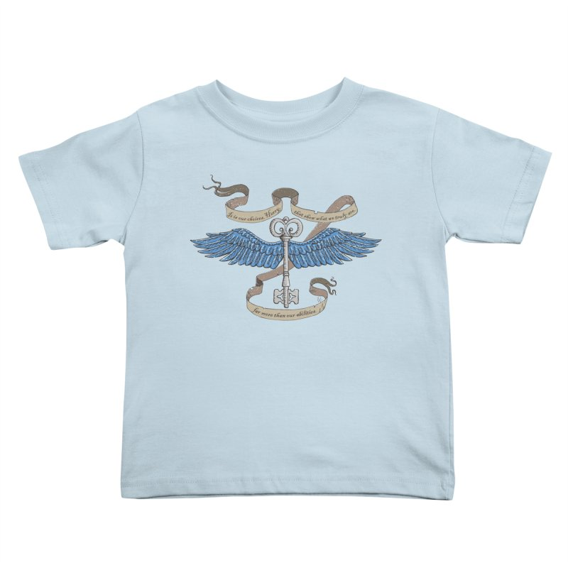 Choose Wisely Kids Toddler T-Shirt by GipsonWands Artist Shop