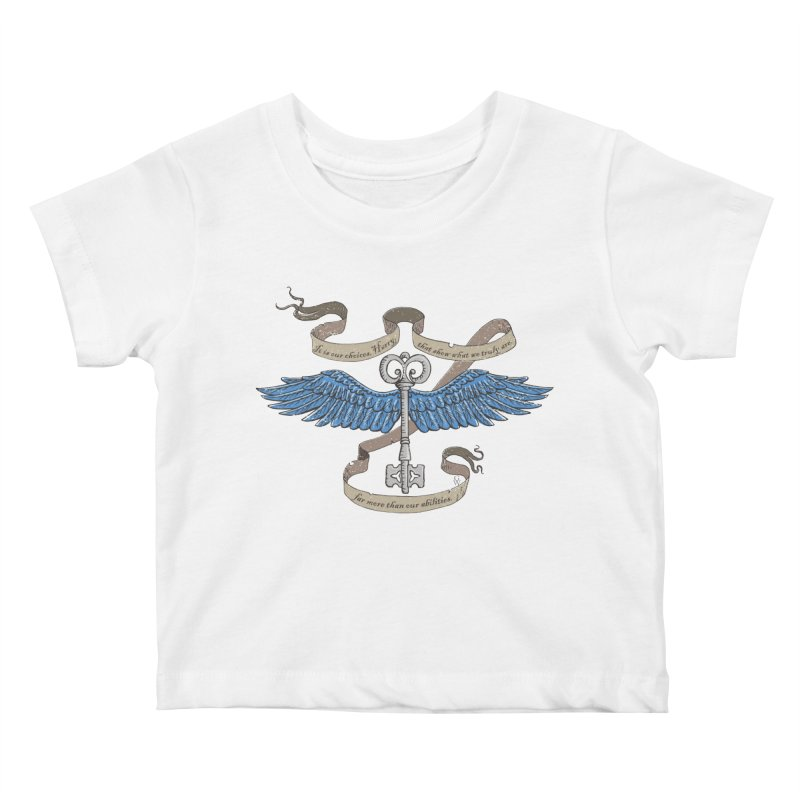 Choose Wisely Kids Baby T-Shirt by GipsonWands Artist Shop