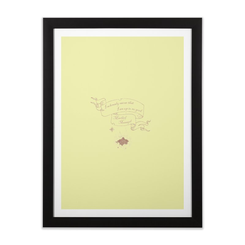 Solemnly Swear Home Framed Fine Art Print by GipsonWands Artist Shop