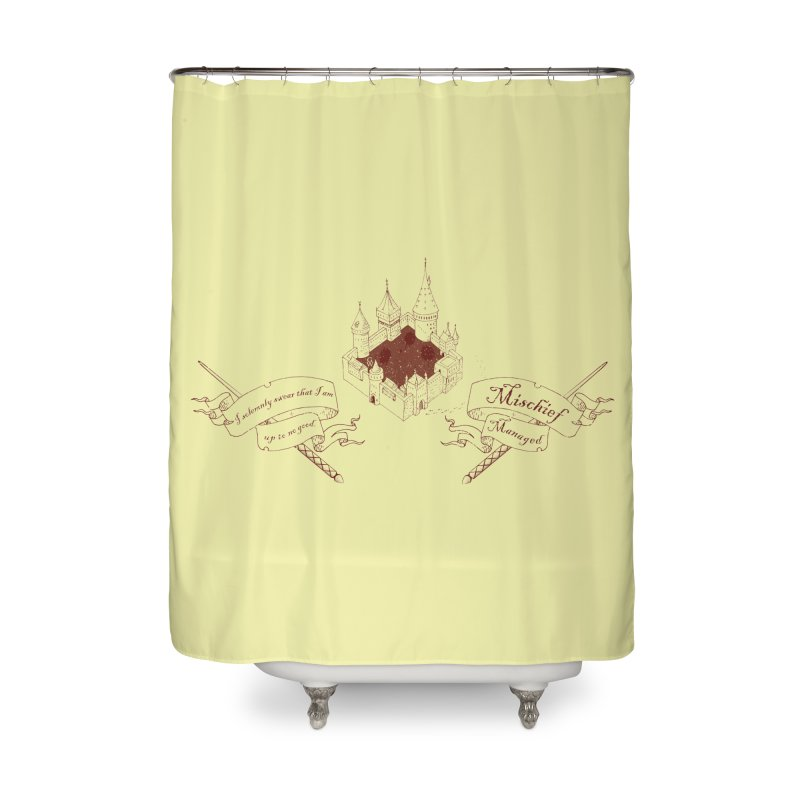 Solemnly Swear Home Shower Curtain by GipsonWands Artist Shop