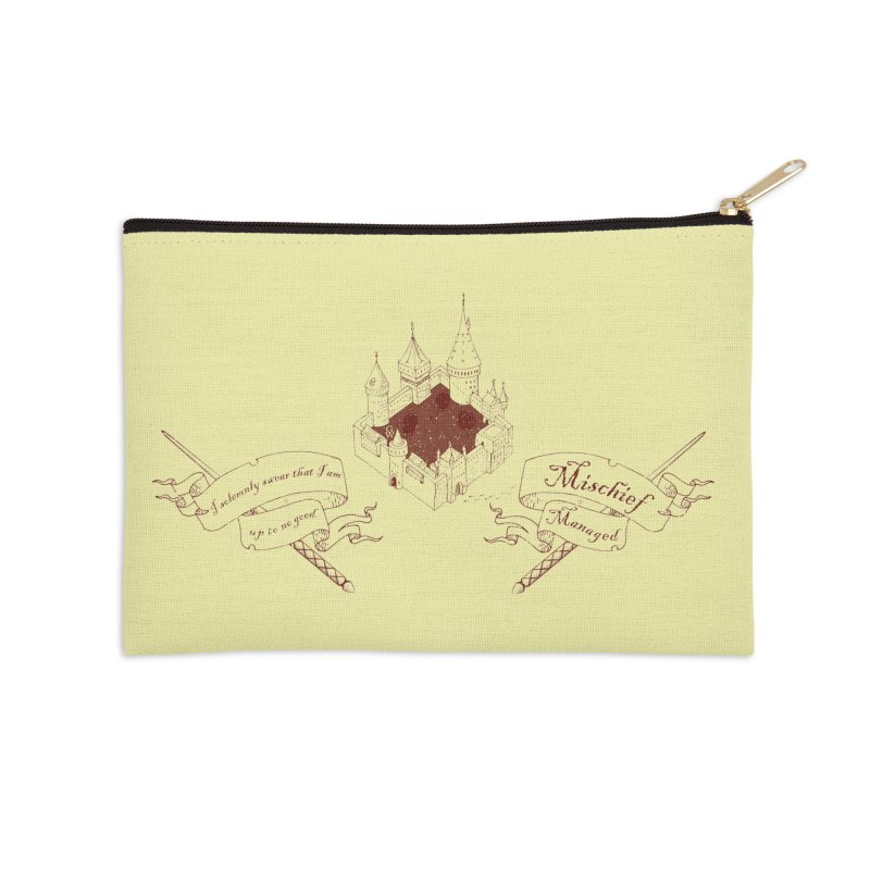 Solemnly Swear Accessories Zip Pouch by GipsonWands Artist Shop